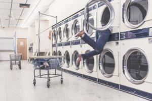 Morphsuit waschen
